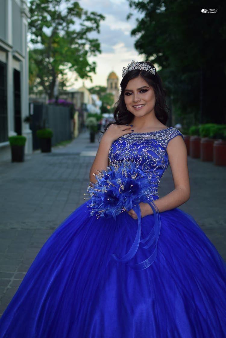 Faaqidaad Vestidos De 15 Años Azul Rey 2019