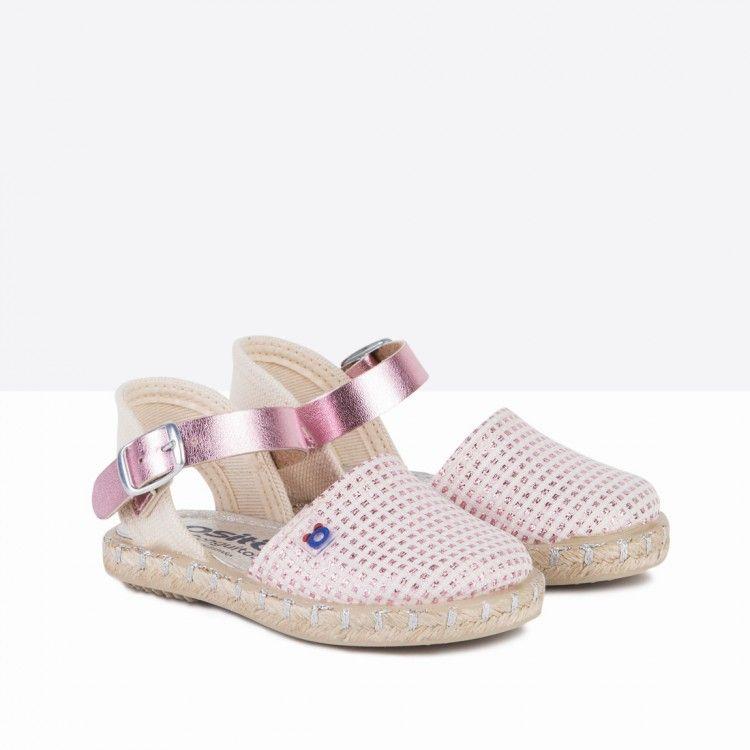 4a245d2ce Sandalias alpargatas de bebé fantasía rosa - Calzado - Bebé - Osito by  Conguitos  calzado