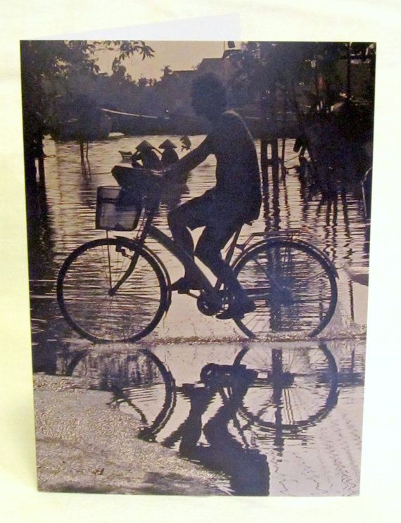 Vietnam Greeting Card Bicycle Card Set by LeighsPhotosAndCards, $20.00