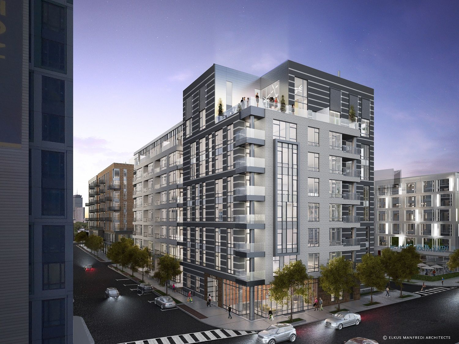 Check Out the Latest Rendering, Prices for South End's Siena