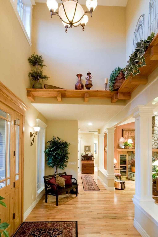 Raised Ranch Living Room Design: 70 Beautiful Farmhouse Entryway Decorating Ideas