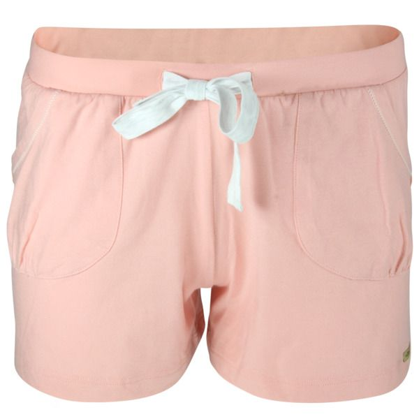 Photo of comazo|earth Fairtrade Shorts In Lachs Und Ecru-melange