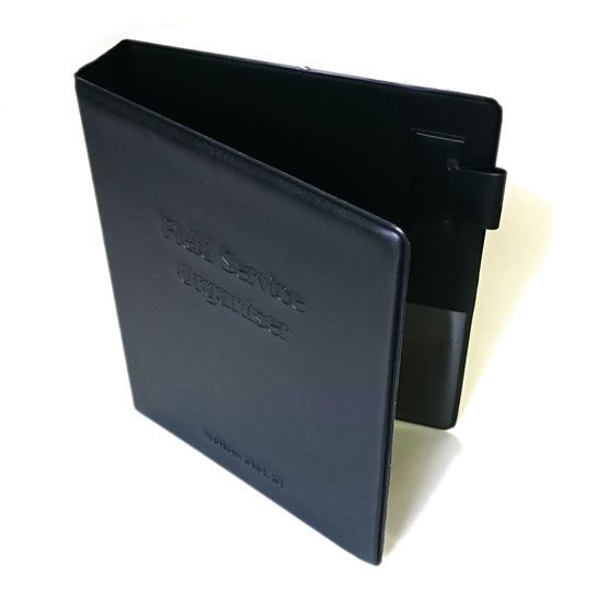 Field Service Ring Binder. A6 Size Ring Binder. Fitted