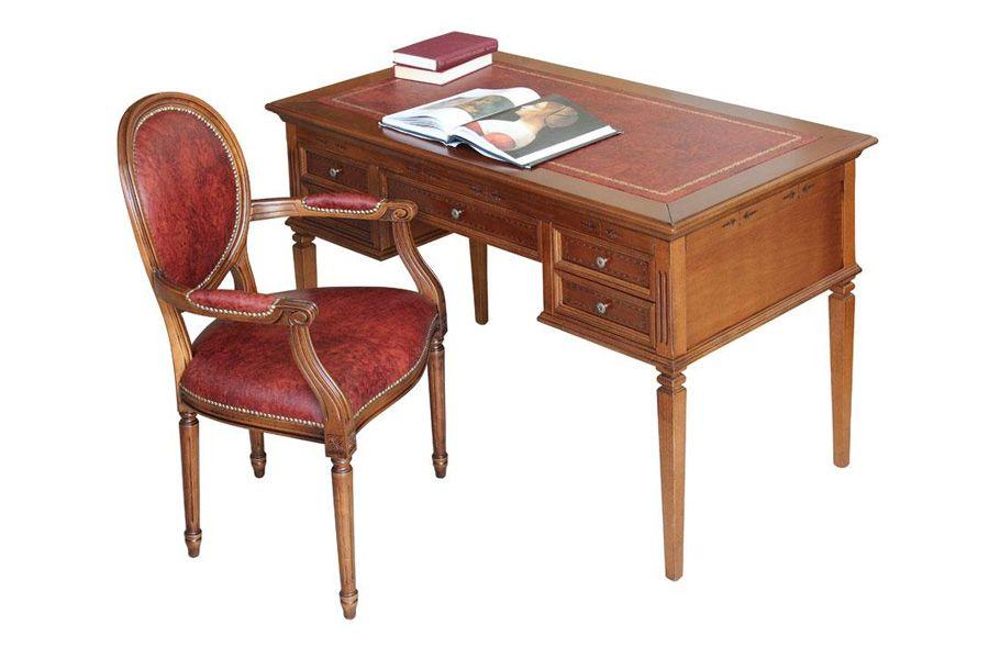 Scrittoio e sedia con vera pelle | Intérieur | Pinterest