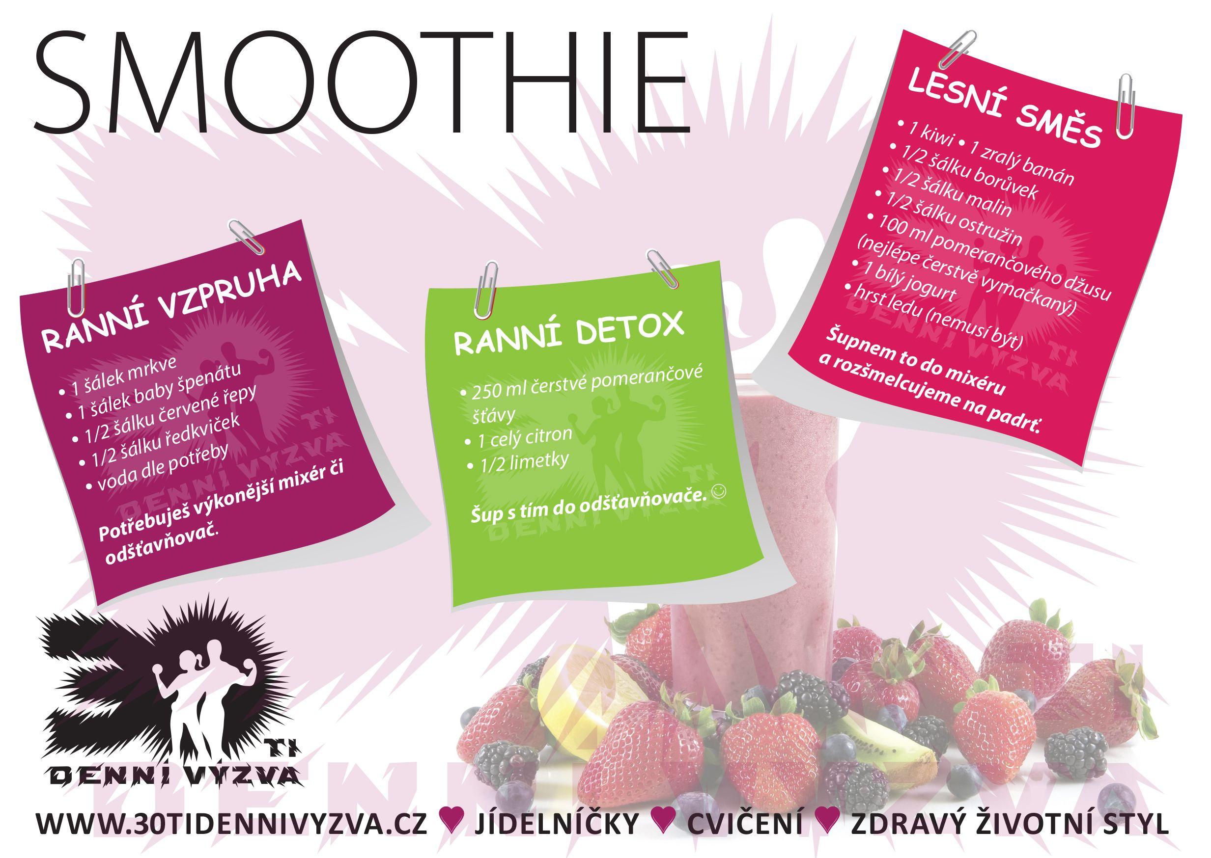 Smoothie - 2. díl - 30ti denní výzva