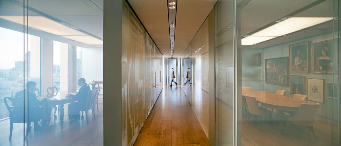 OMA - Office of Metropolitan Architecture, Allies and Morrison, Hufton + Crow · Rothschild Headquarters, New Court