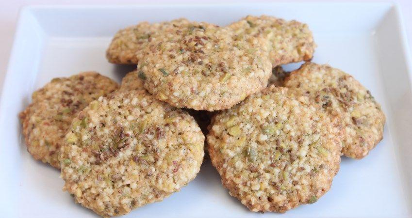Rezept für Anis-Taler mit Mandeln, Butter und Anis!
