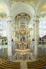 Interior of the Dresdner Frauenkirche