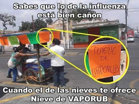 #meme #nieves #influenza