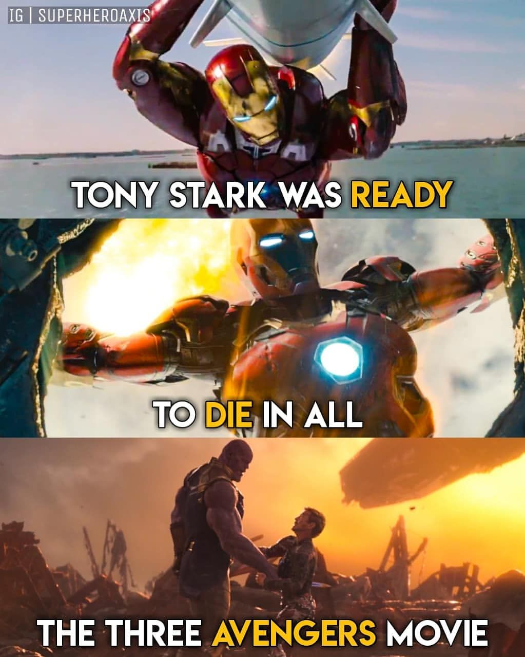 But He Died After He Had Something To Live For Marvel Jokes Avengers Marvel Funny