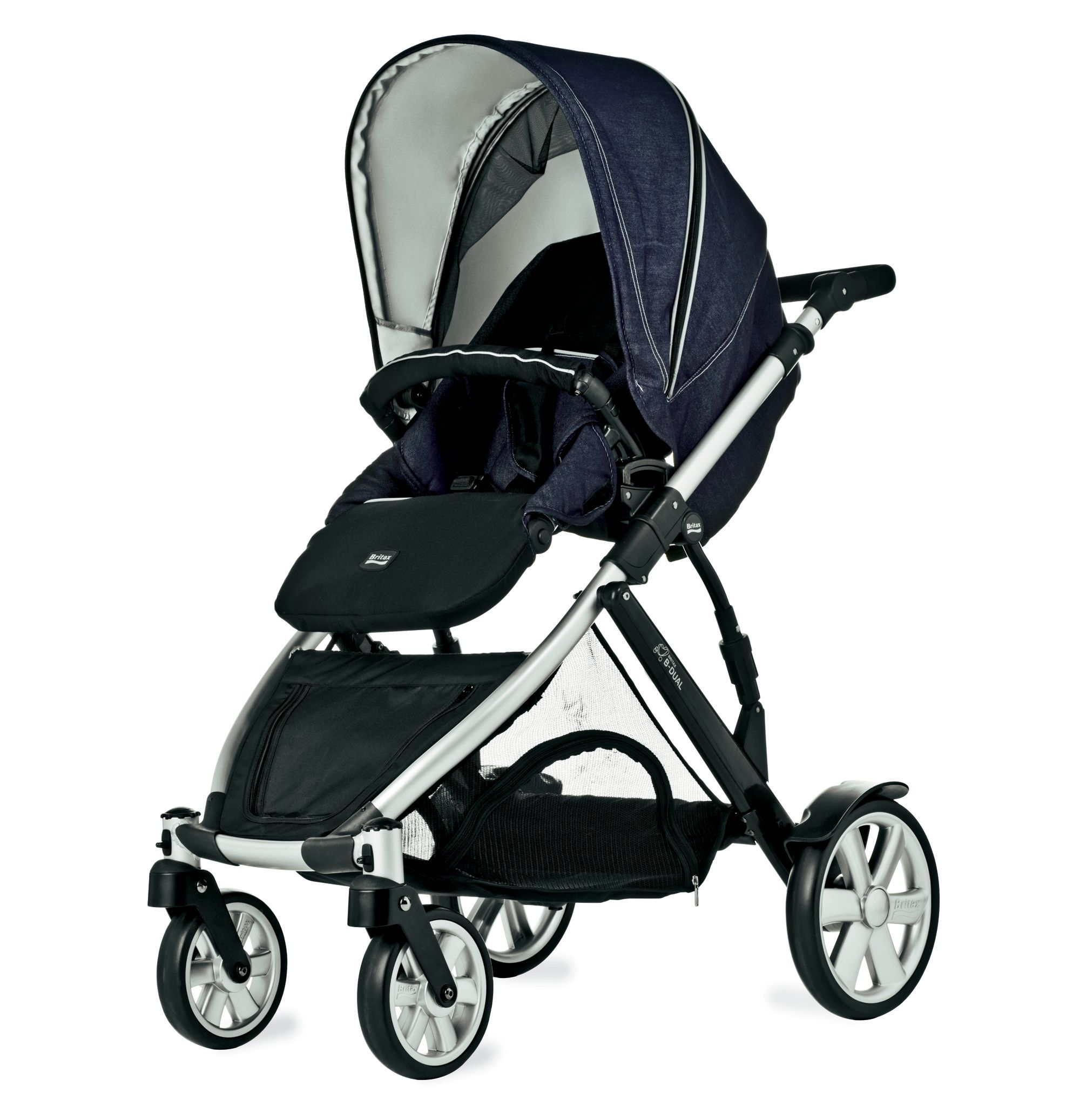 Britax BDual Pushchair Atomic Denim Travel systems