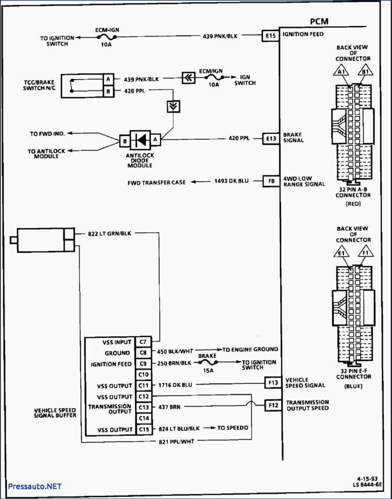 Brilliant Ideas Of 4l60e Transmission Wiring Diagram Fresh