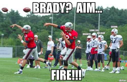 Brady Aim Fire Lolpats New England Patriots Football New England Patriots Patriots Football