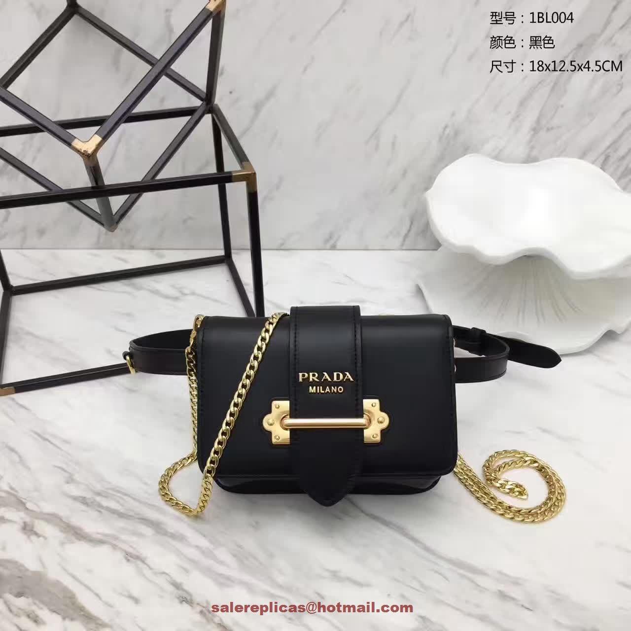 e85a14c8a7ff replica Prada cahier belt bag 1BL004 Black | JFM_Purses/Bags | Bags ...