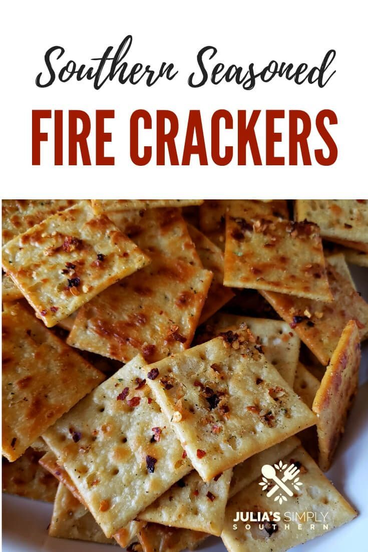 Photo of How to make Southern Baked Fire Crackers, also known as Alabama fire crackers or…