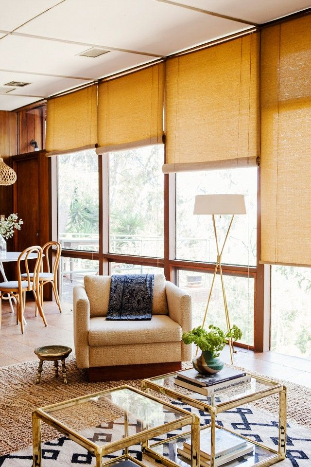 The Most Inspiring Midcentury Home Remodels Living Room Blinds Living Room Windows French Country Living Room