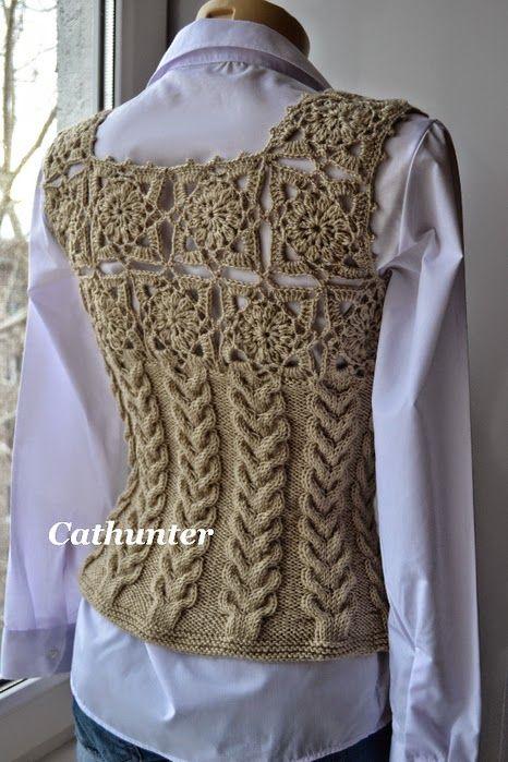 Resultado de imagen para chompas a crochet para señoras | CHOMPAS ...