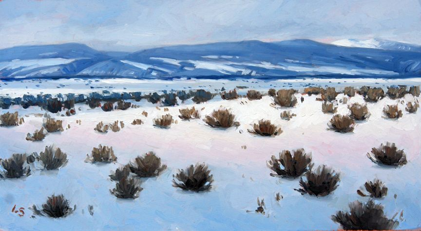 South to Pueblo, by Larry Selman, original at www.larryselman.com