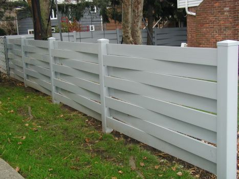 love this vermont style fence | OutdoorZ | Privacy fences