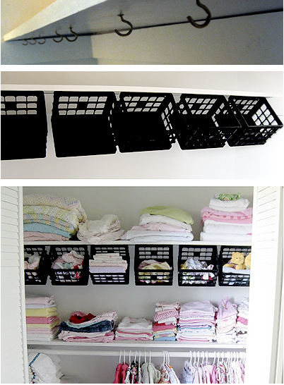 Perfect For Organizing Your Sheets And Blankets. Works In Your Closet!!