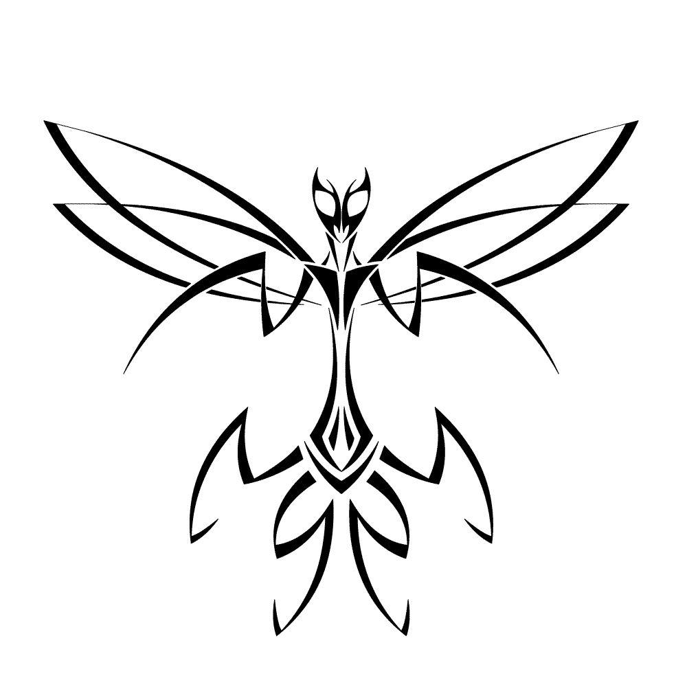 Tribal Mantis Design Mantis Tattoo Spider Drawing Praying Mantis