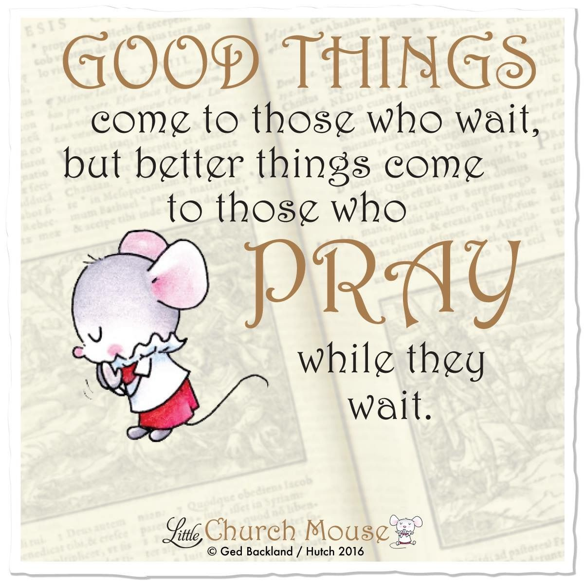 Twc Quote Pinrosemary Perez On Little Church Mouse  Pinterest
