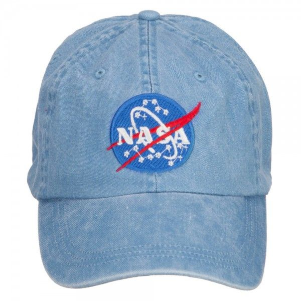 748ae689657 NASA Insignia Embroidered Washed Cap - Royal in 2019 | Space | Denim ...