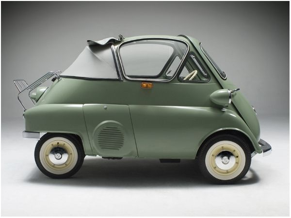 1956 Bmw Isetta 300 B W Cabriolet Tropical What A Great Car Lovely