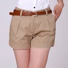 Resultado De Imagen Para Short De Vestir De Mujer Casual Trousers Women Womens Shorts Casual