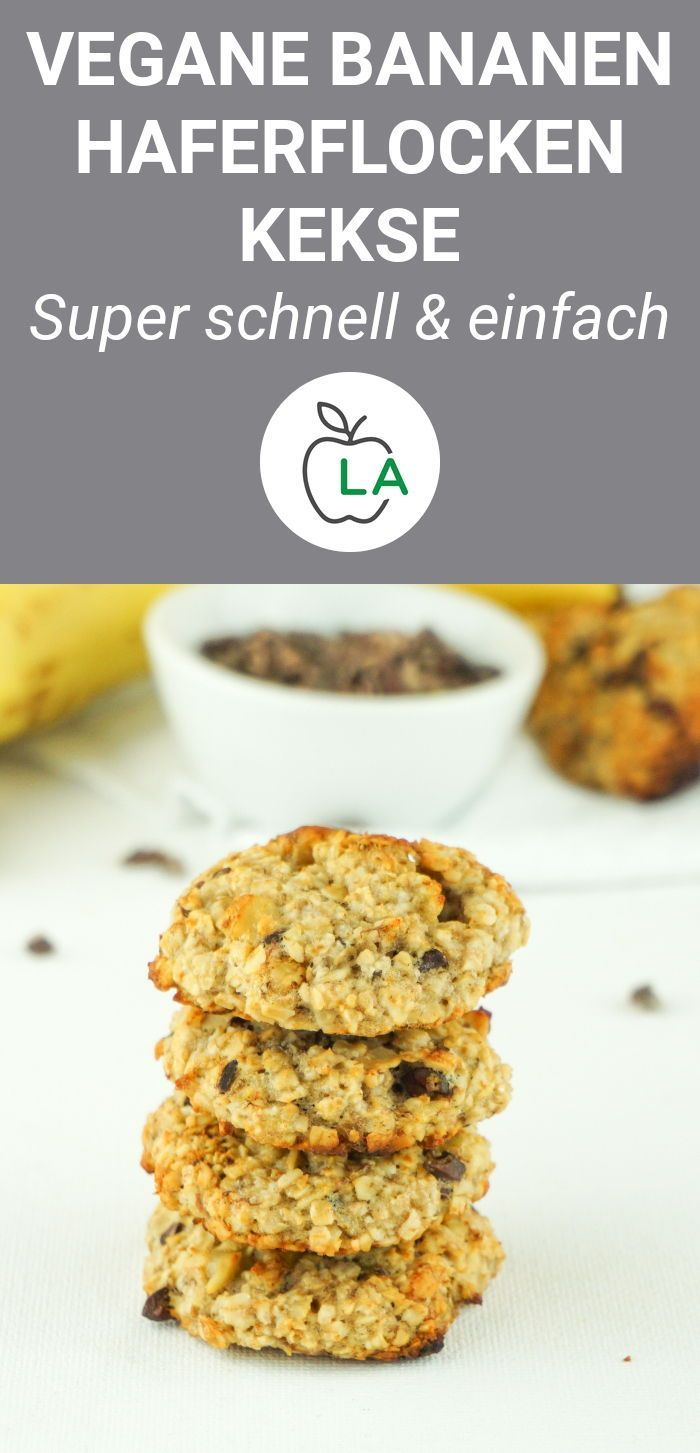Photo of Vegan Cookies Without Sugar – Healthy Oatmeal Recipe