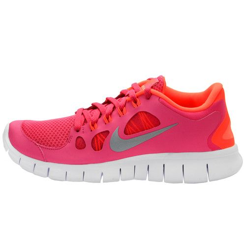 big sale 26408 893c0 Nike Free 5 0 GS Big Kids 580565 600 Girls Running Shoes Athletic Pink Size  7   eBay
