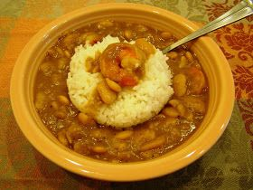 Butter Beans and Shrimp Stew! Yummy!!!