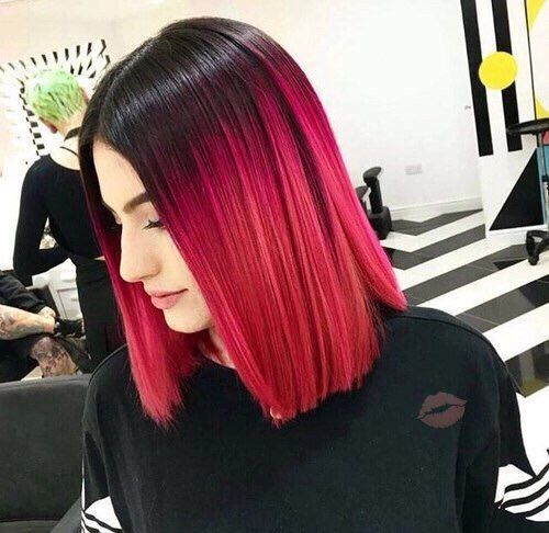 This Blog Is About Every Kind Of Alternative Hairstyle I Do Not Own Any Of This Photos If Not Hair Styles Hair Color Pink Red Ombre Hair