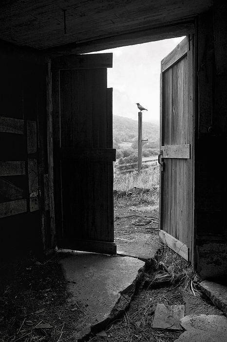 Barn Door View From Within Old Barn Picture By Gary Heller Haunted Images Old Barn Doors Fine Art Photography Print