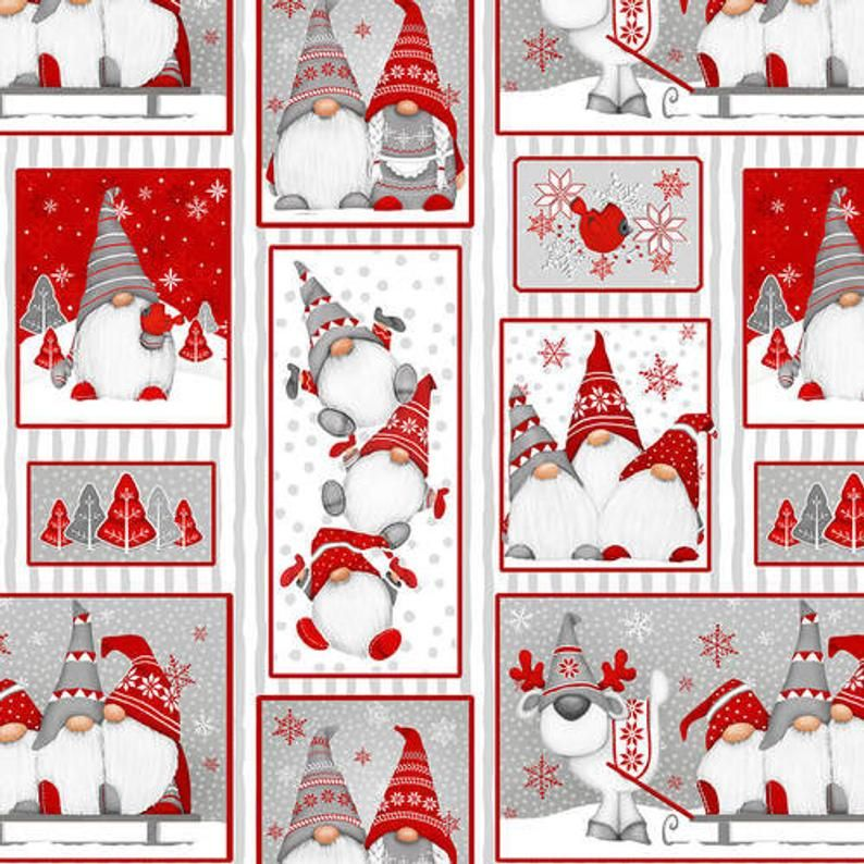 Flannel Fabric, Winter Whimsy 2 Ply Cotton Flannel