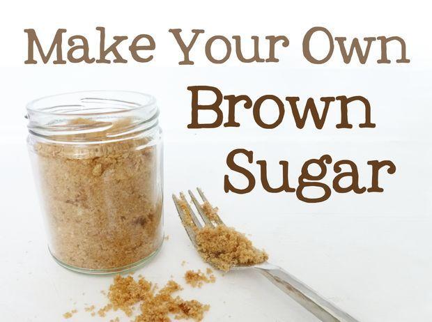 Brown Sugar Substitute Make Brown Sugar Brown Sugar Substitute