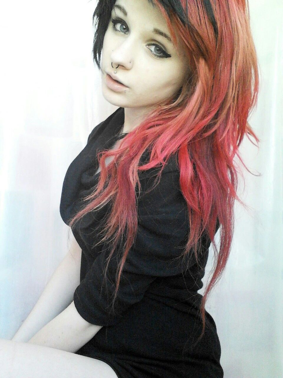 Amazing emo hair emo girls and hair pinterest blondes purple