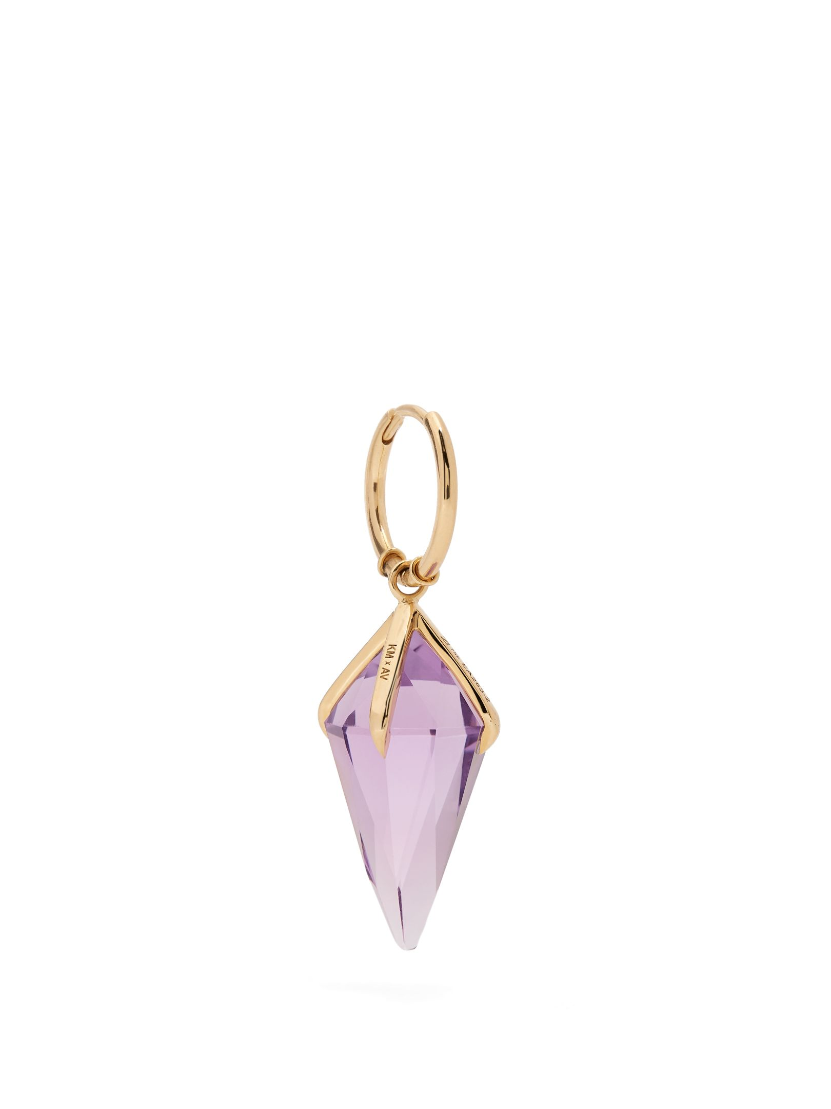 Ara Vartanian X Kate Moss diamond, amethyst & gold necklace