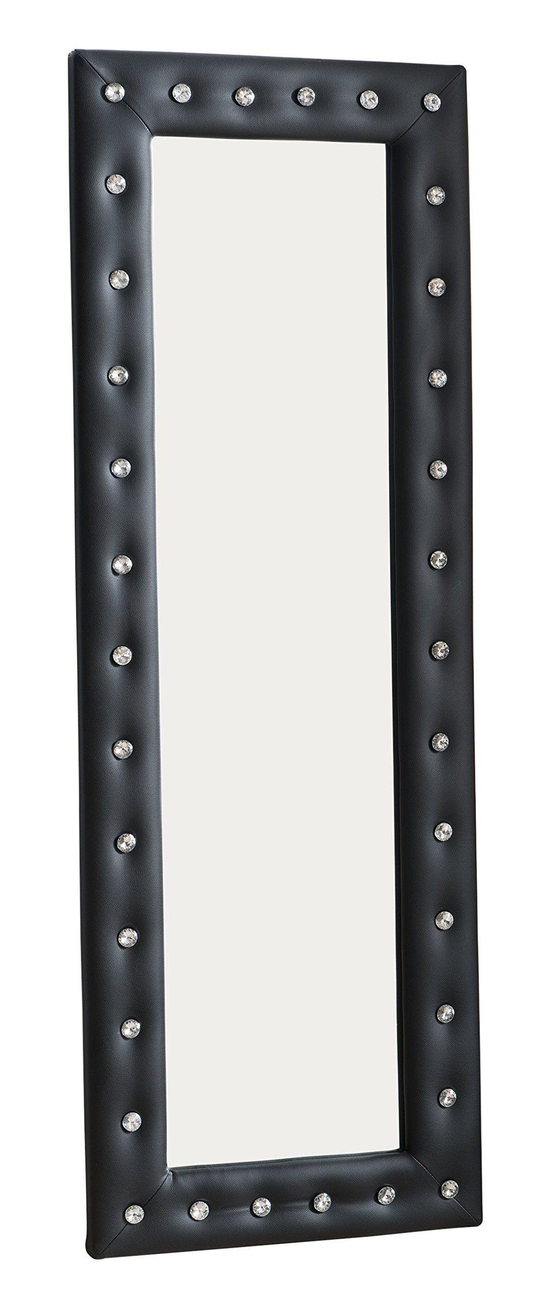 Kings Brand Furniture Modern Upholstered Tufted Standing