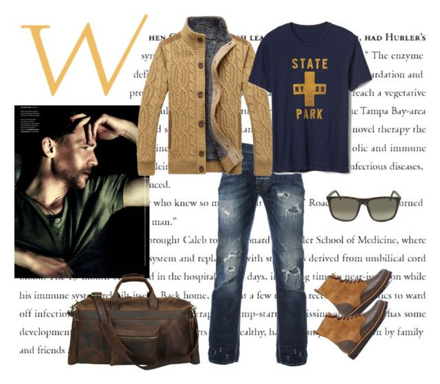 """""""Womanizer"""" by lifestylestories ❤ liked on Polyvore featuring Gap, UGG, Gucci, men's fashion and menswear"""