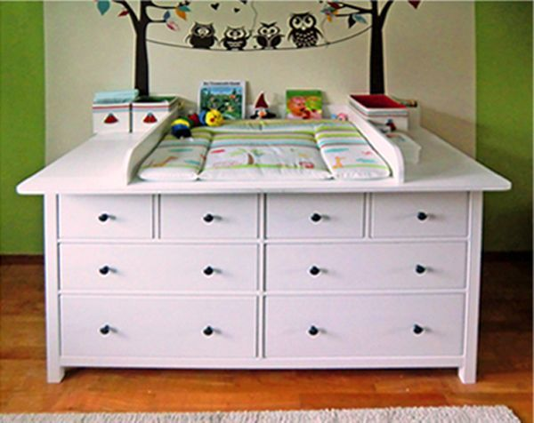 Ikea babyzimmer hemnes  Wickelaufsatz-Eigenbau für Hemnes Kommoden | HEMNES