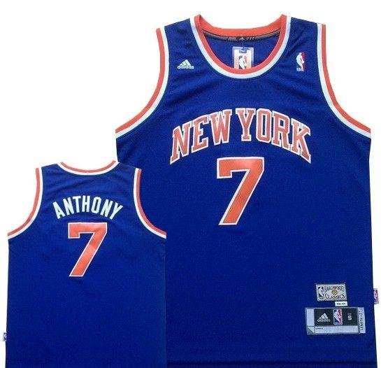 Carmelo Anthony throwback Knicks jersey