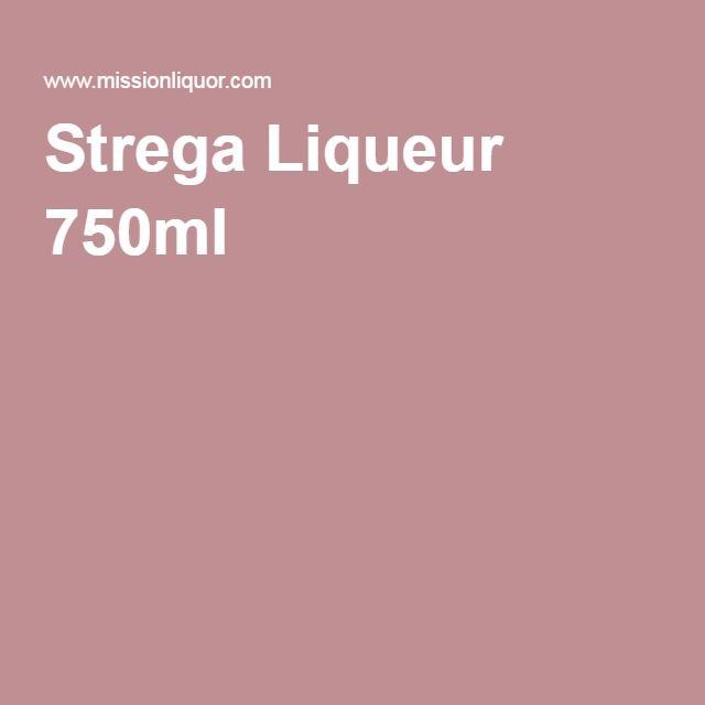 Strega Liqueur 750ml