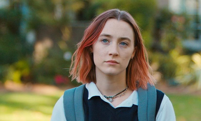 """Saoirse Ronan playing a teenager in """"Lady Bird"""" actors playing teenagers"""