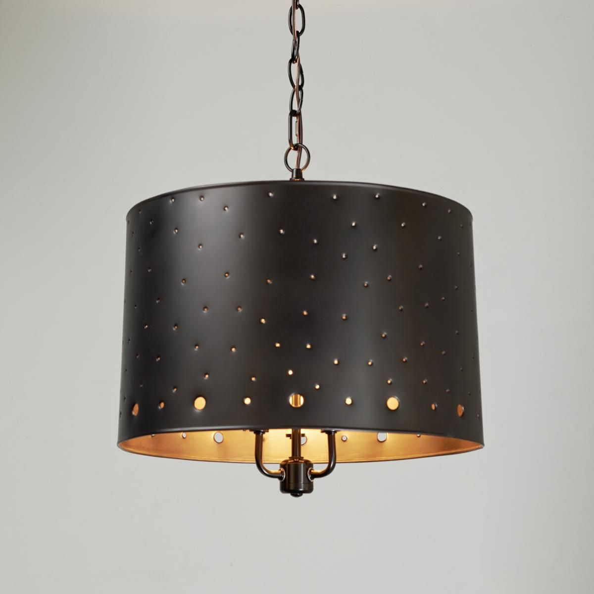Starlight Drum Shade Pendant Light-Maybe Over A Kitchen