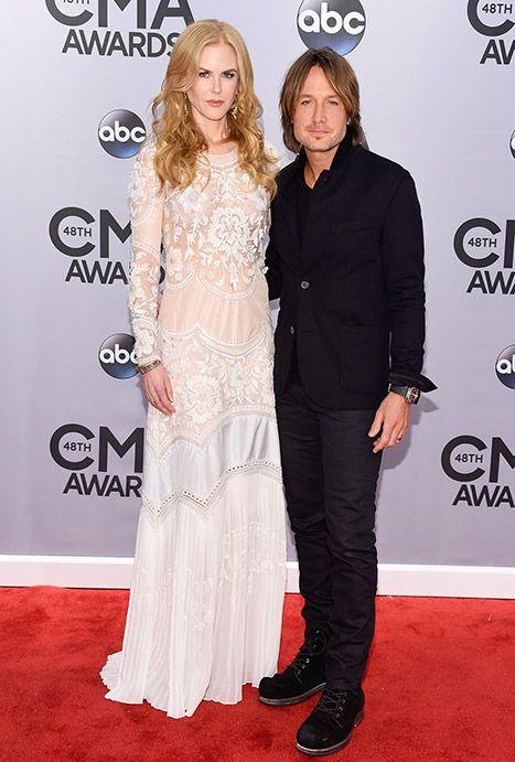 Nicole Kidman, Keith Urban Stun Together at the CMA Awards 2014 ...