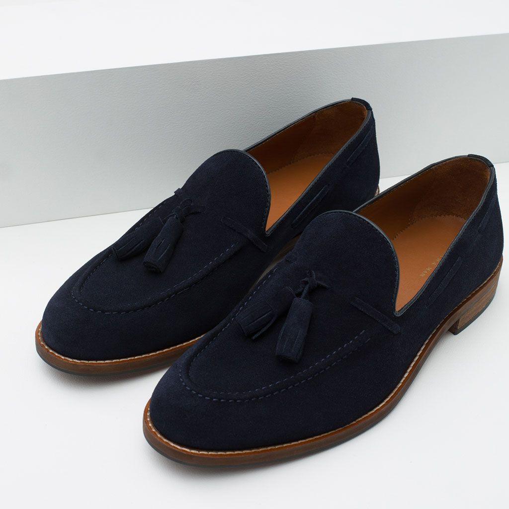 Borlas Zapatos HombreZara Terciopelo Todo Detalle Chinela Ver 4A5jLR