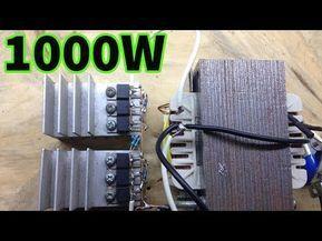 1000W simple inverter powerfull - YouTube in 2020 ...