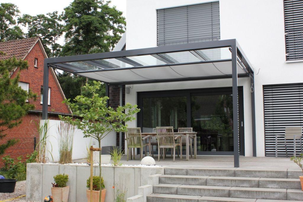 Terrassendach Als Flachdach Mit Glas Rm Terrassendach Pinterest