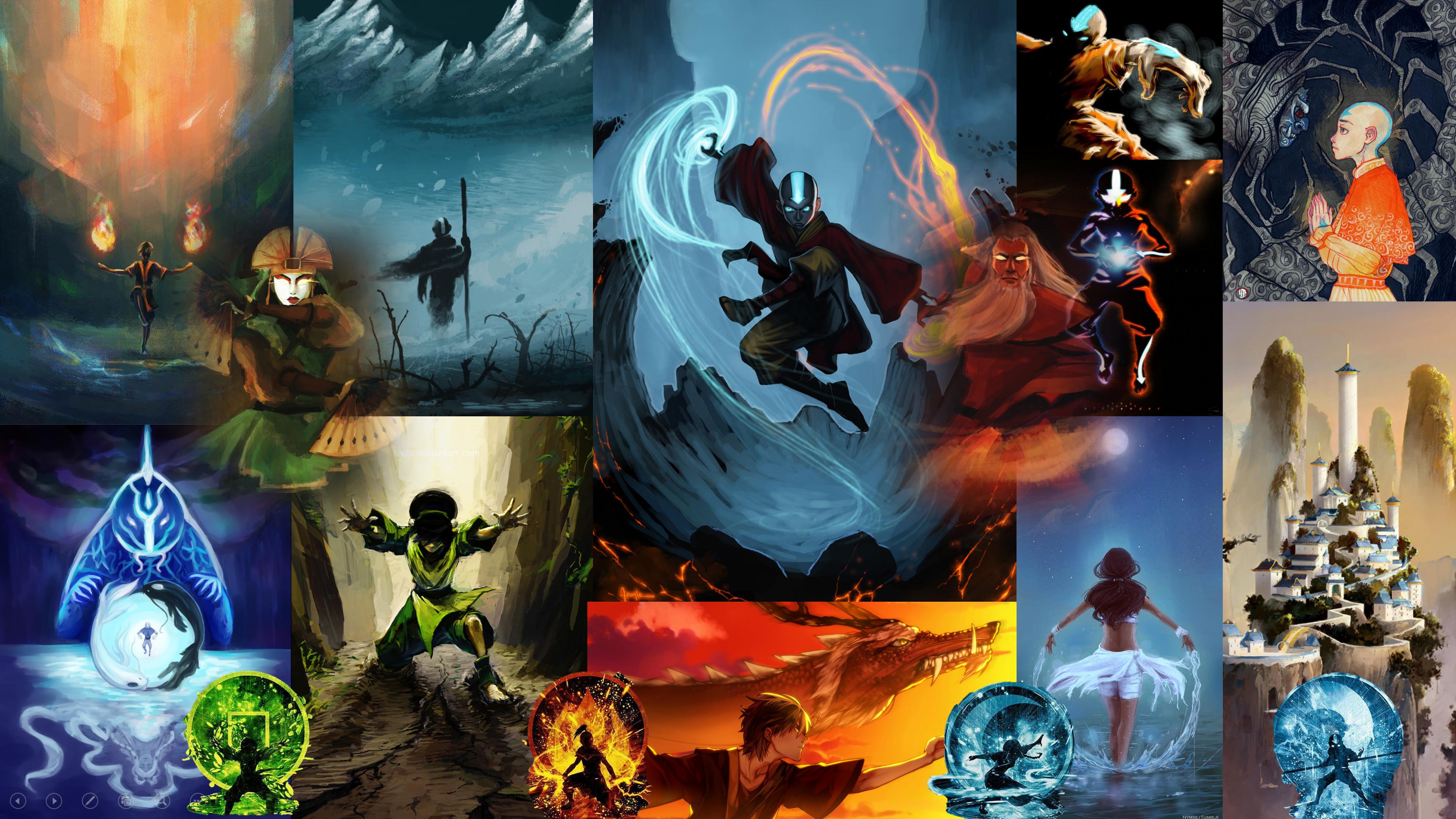 Avatar The Last Airbender Wallpaper 3840 X 2160 In 2020 Avatar The Last Airbender Avatar Poster The Last Airbender